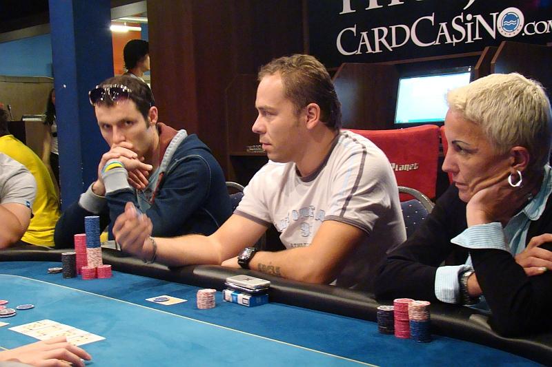 Seznamka hráčů pokeru