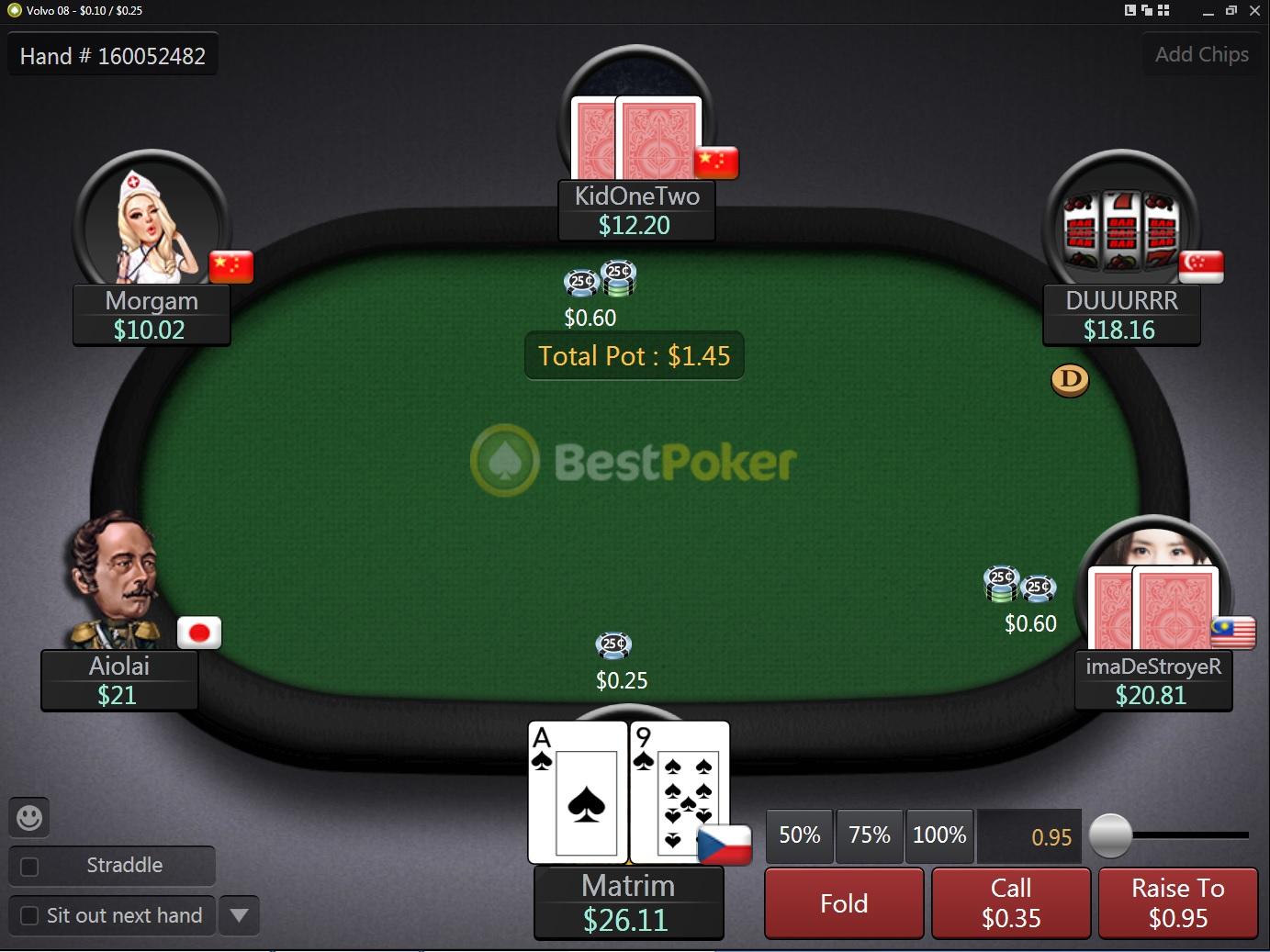 American poker hrat zdarma
