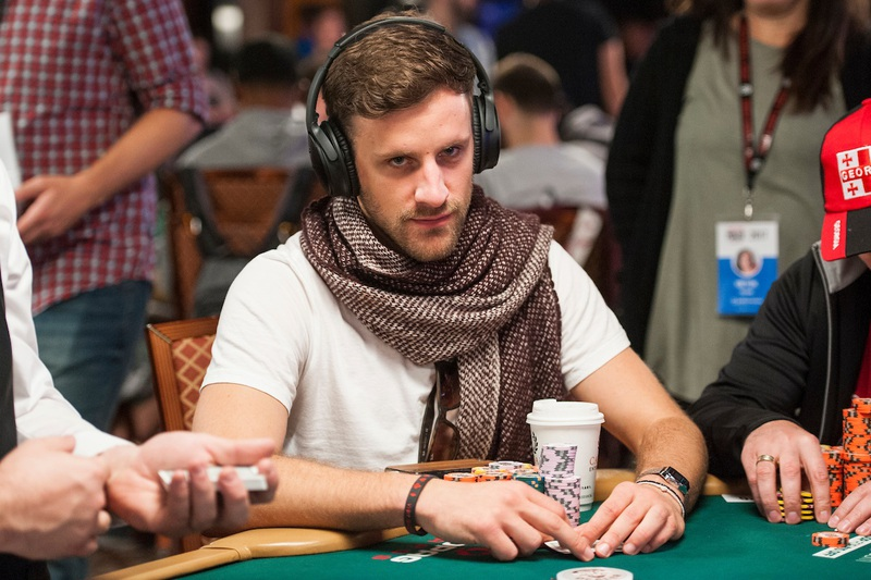 Robin Hegele WSOP Main Event Day 5